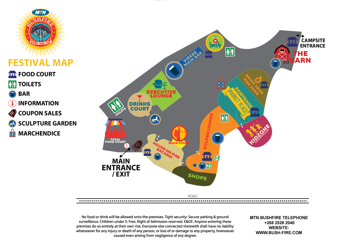 Festival map mtn bushfire festival 2018 mtn bushfire festival 2018 click on the button below to download a pdf copy of the map gumiabroncs Images